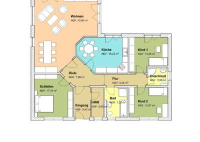 EB- 138 Farbe Erdgeschoss